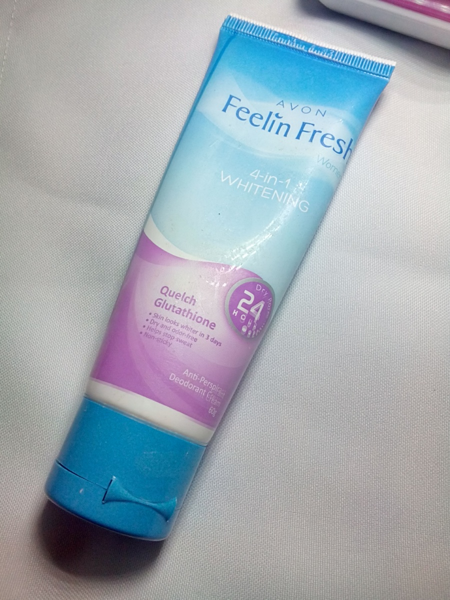 Avon Feelin Fresh Quelch Glutathione Deodorant Cream